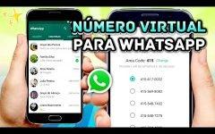 Como criar um número virtual para o WhatsApp